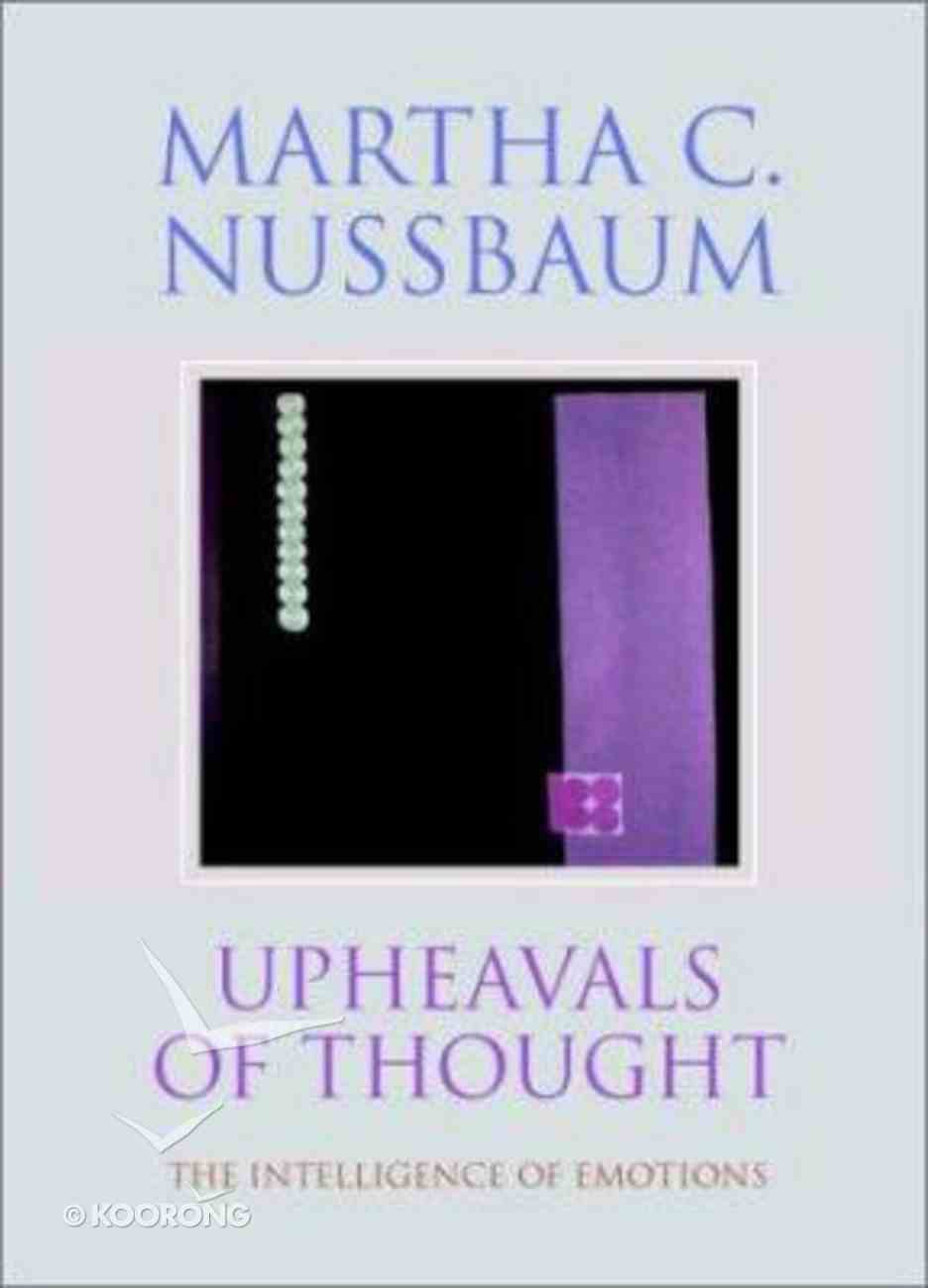 Upheavals of Thought Paperback