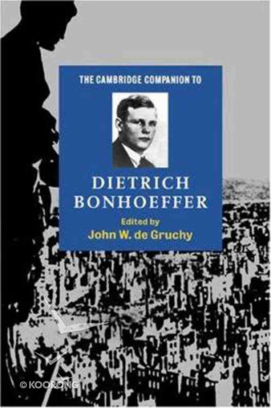 The Cambridge Companion to Dietrich Bonhoeffer Paperback