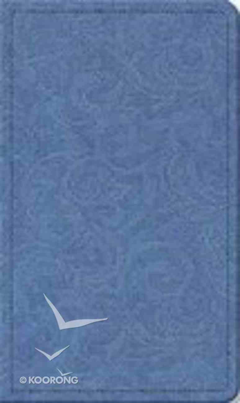 KJV Special Occasion Bible Blue Lace Imitation Leather
