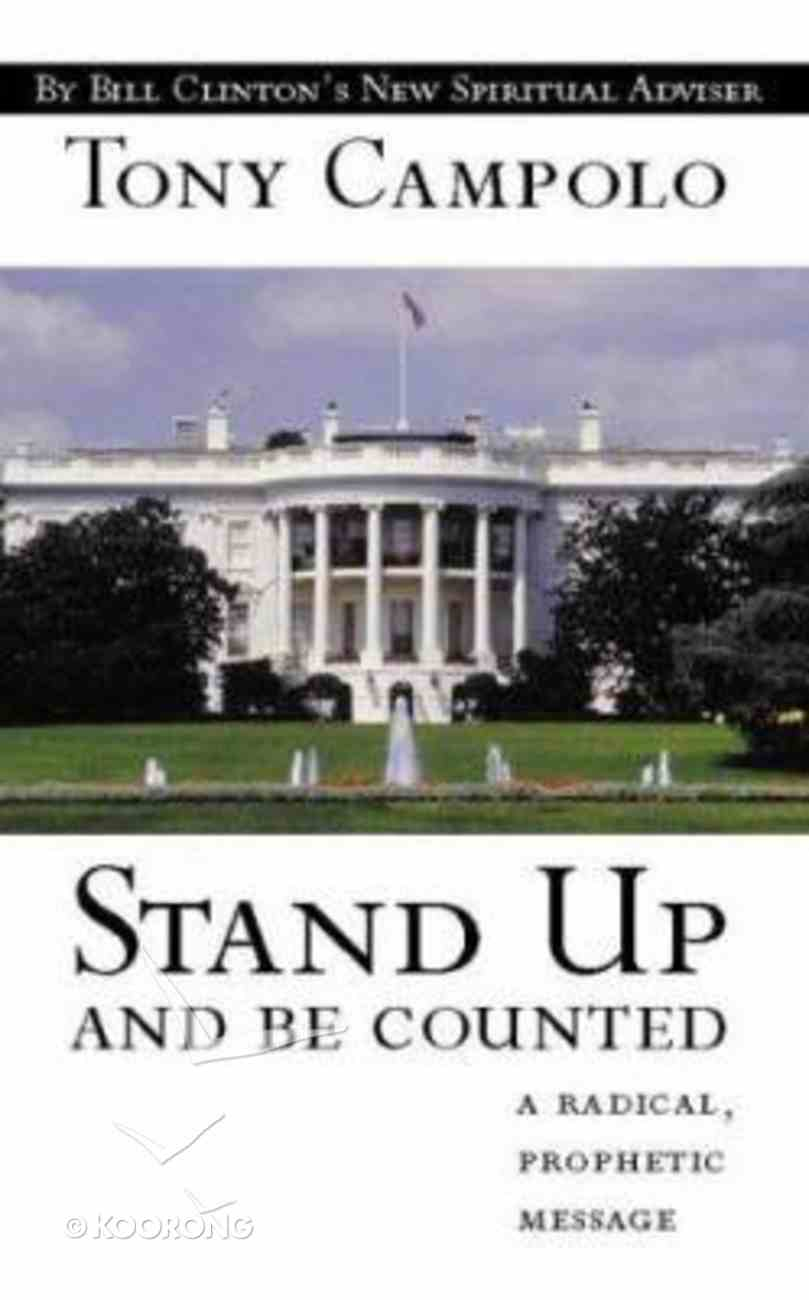 Stand Up and Be Counted Paperback