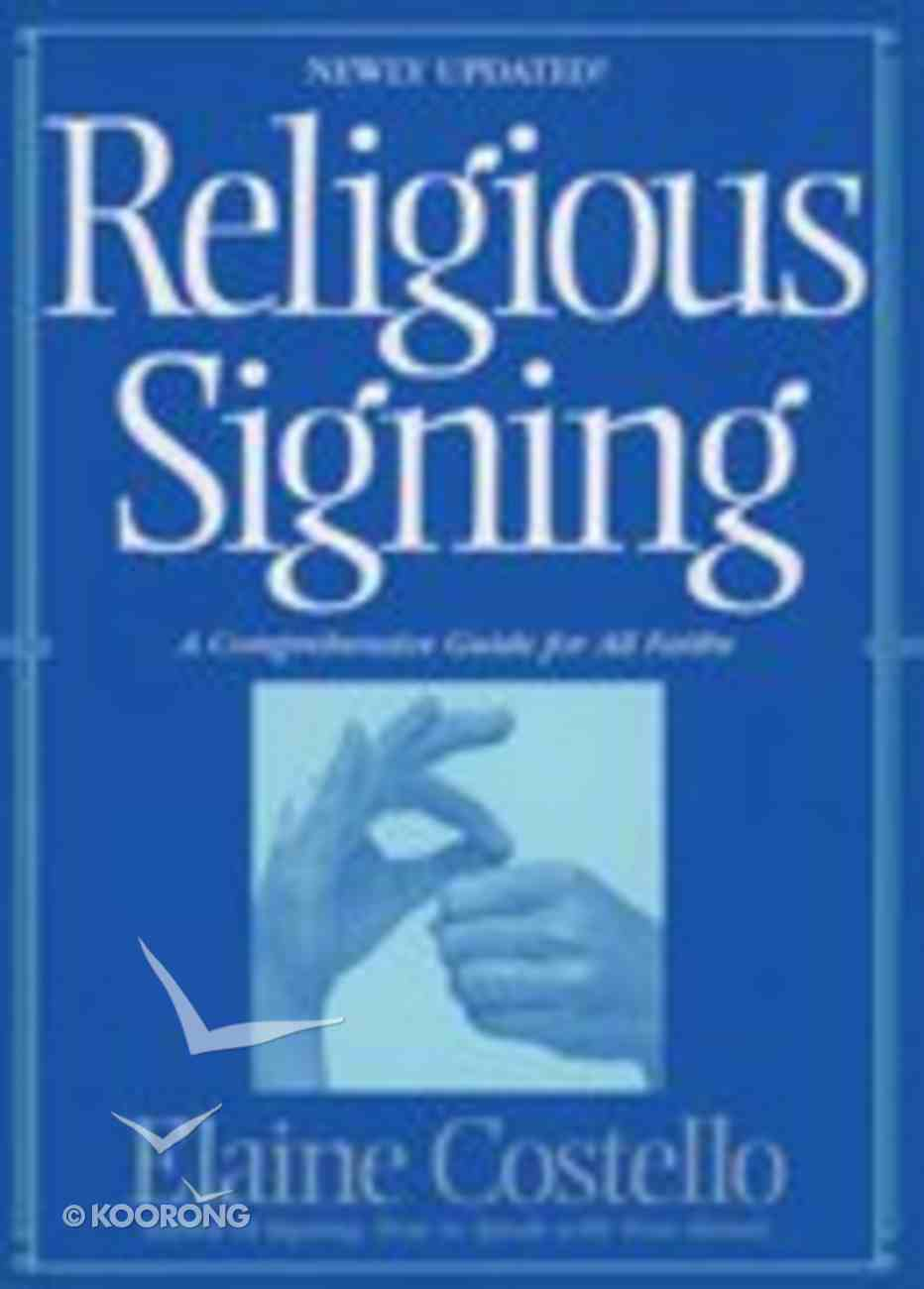 Religious Signing Paperback