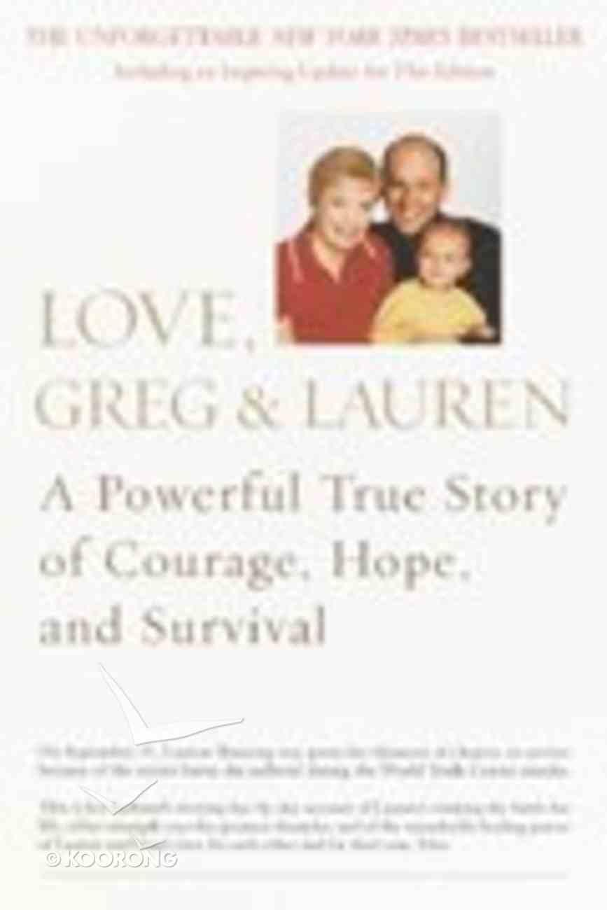 Love, Greg & Lauren Paperback