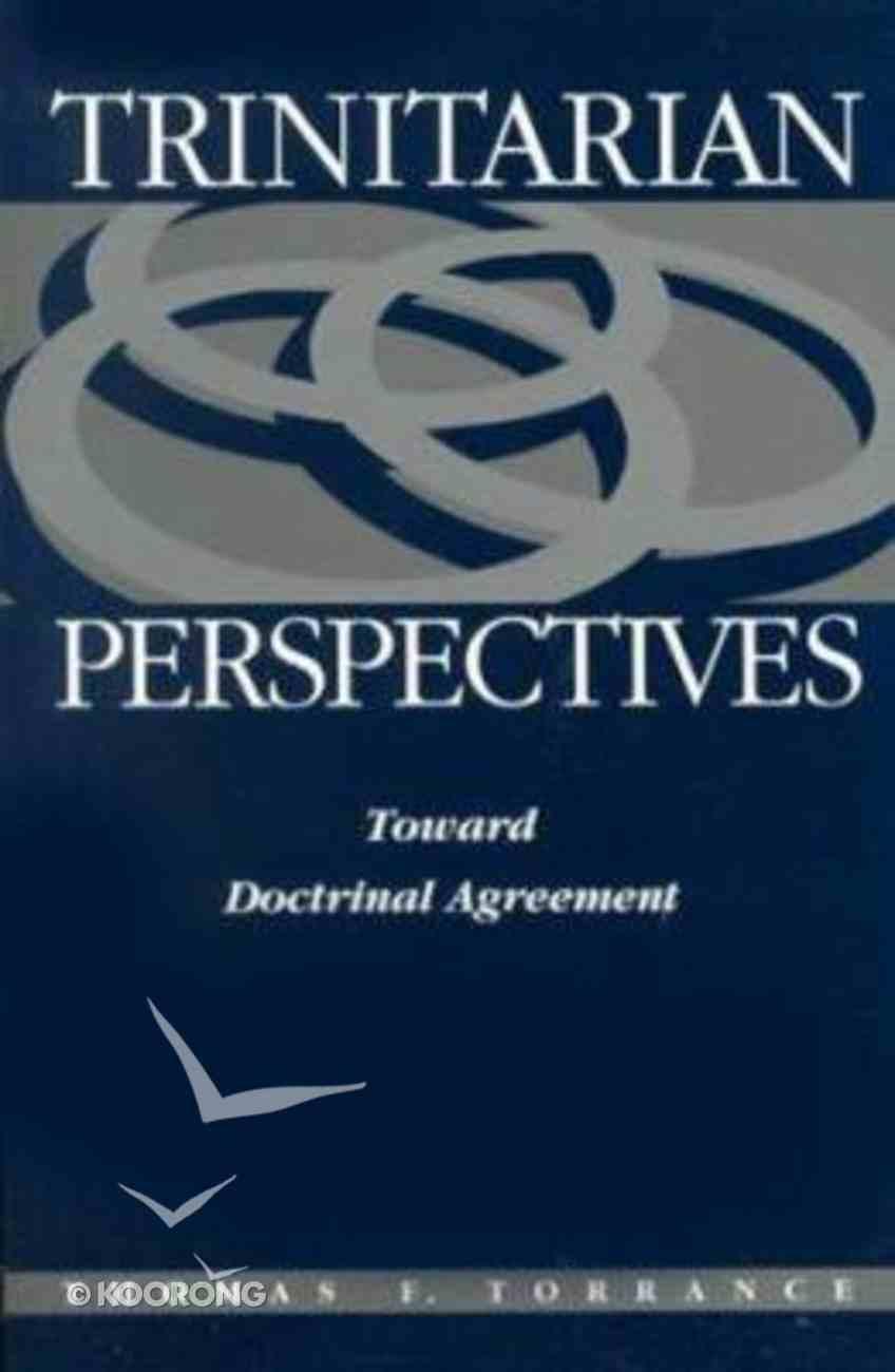 Trinitarian Perspectives Paperback