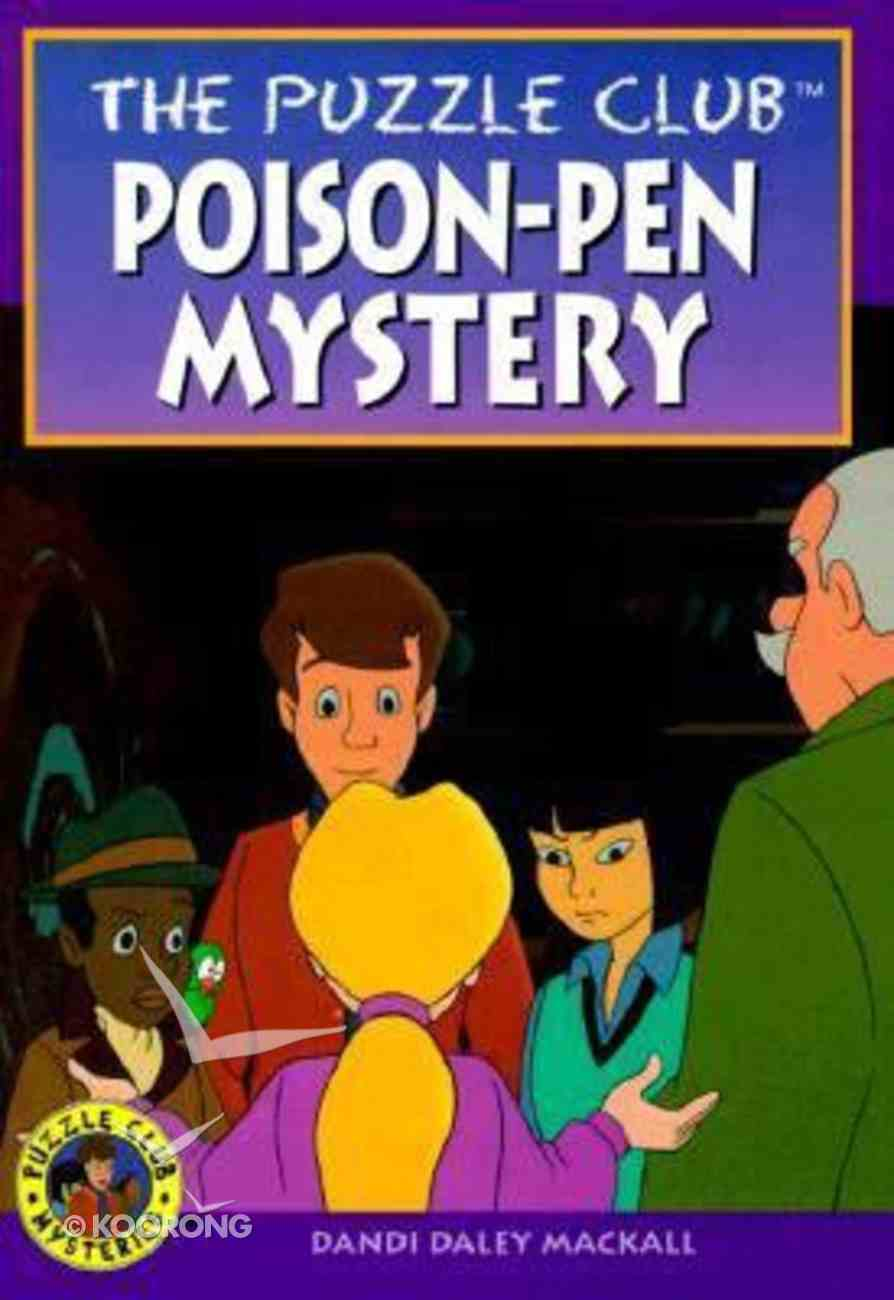 Poisen-Pen Mystery (#04 in Puzzle Club Mysteries Series) Paperback