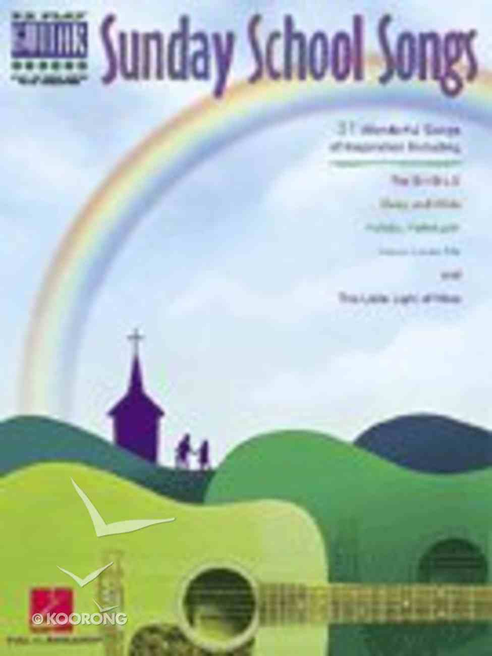 Sunday School Songs Paperback