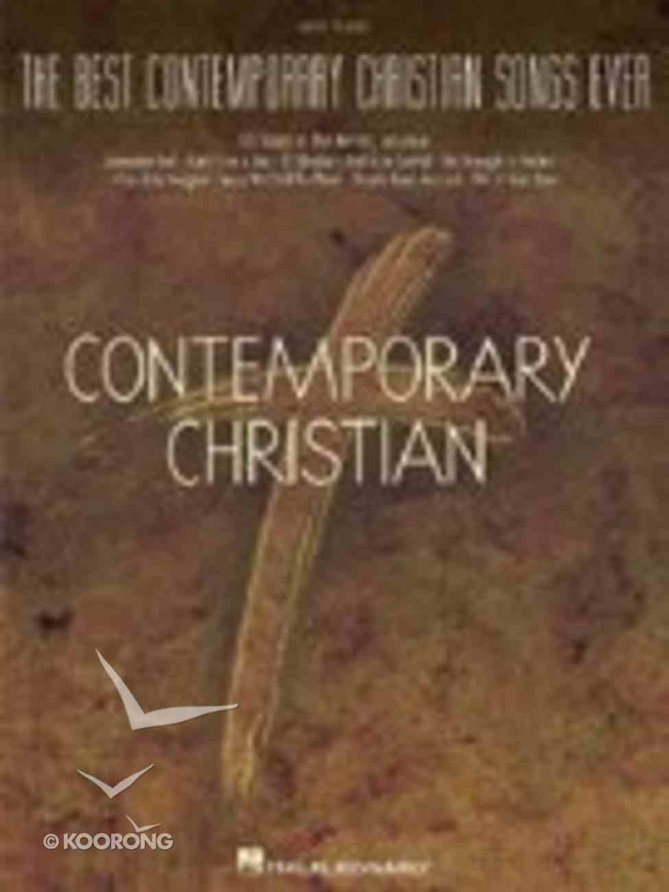 Best Contemporary Christian Songs Ever (Music Book) (Simplified Piano) Paperback