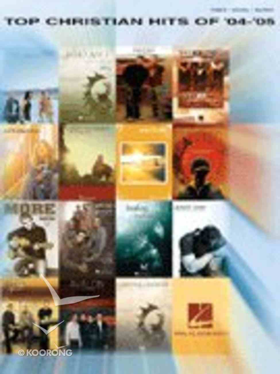 Top Christian Hits of 2004-2005 Paperback