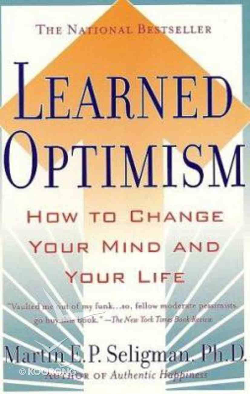 Learned Optimism Paperback