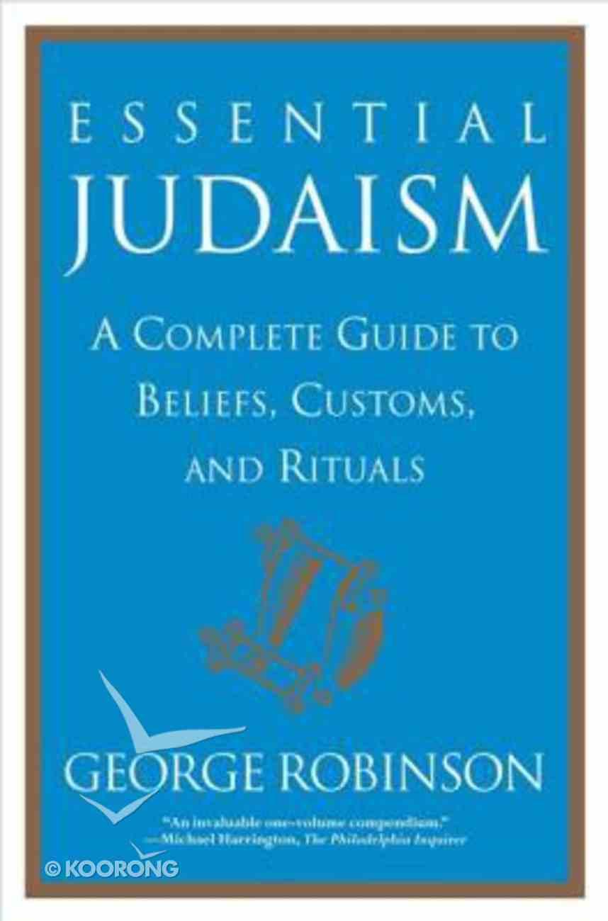 Essential Judaism Paperback