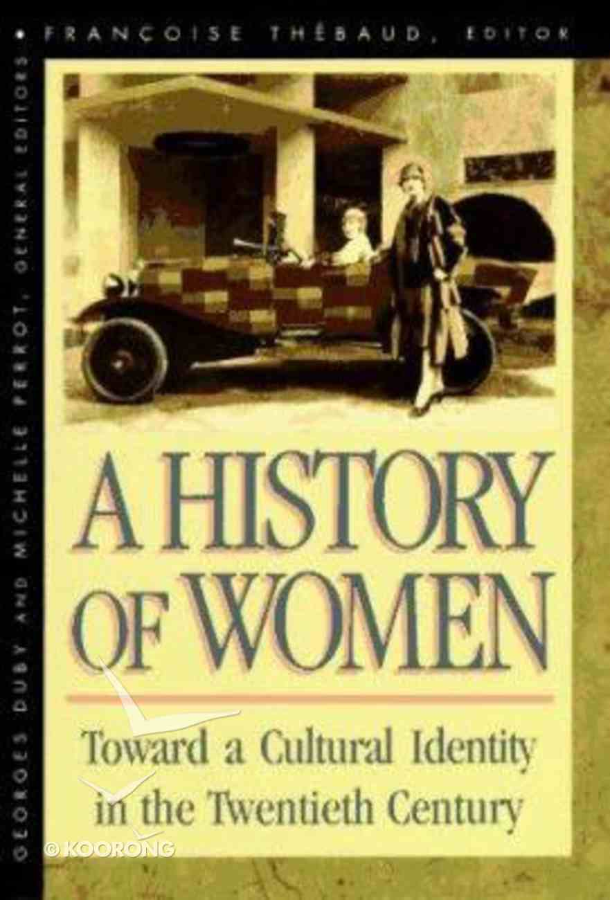 Hww #05: Toward a Cultural Identity in the Twentieth Century Paperback