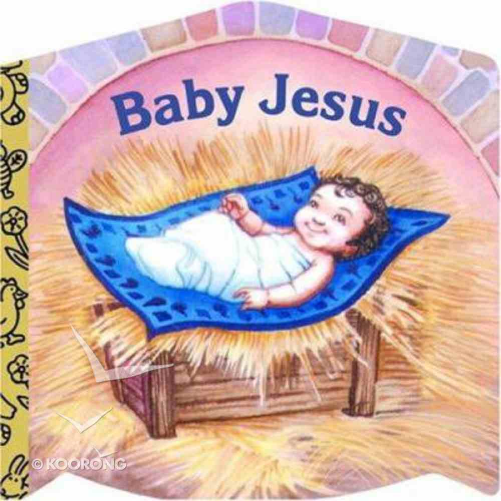 Baby Jesus (Golden Books Series) Board Book