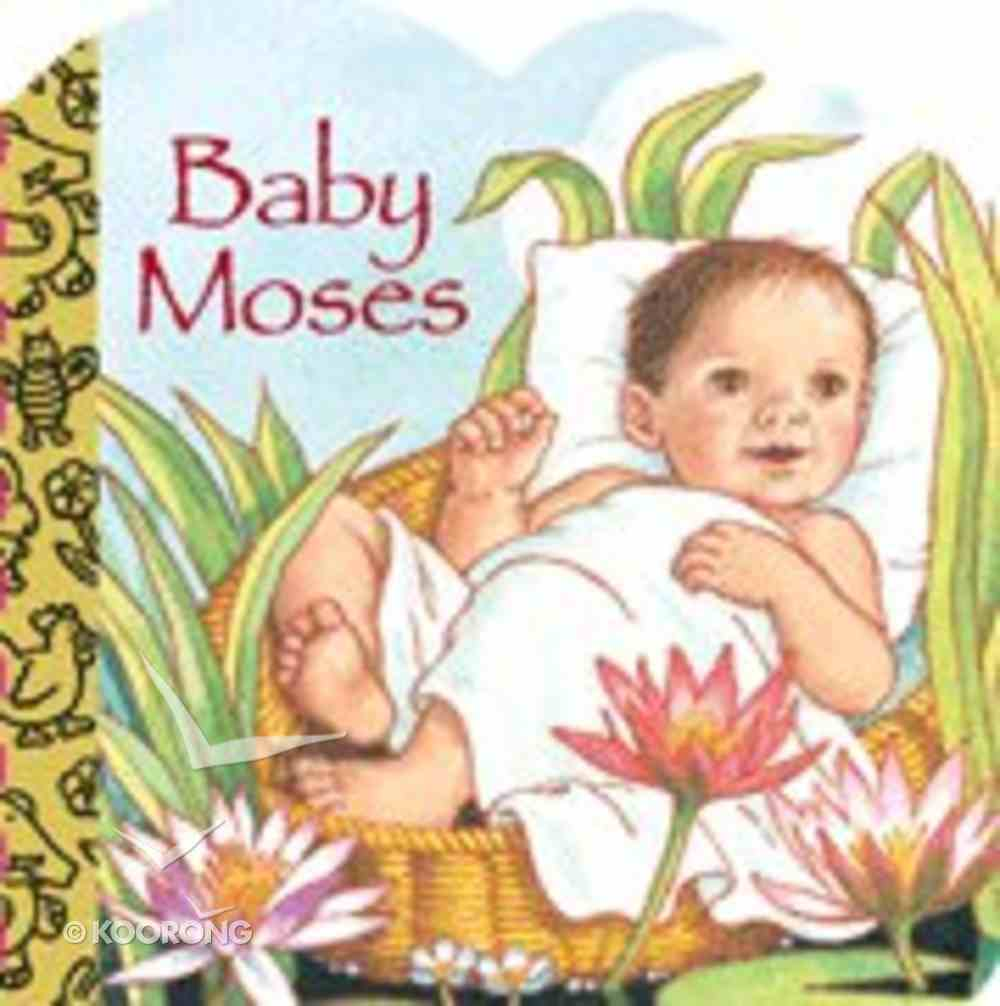 Baby Moses (Golden Books Series) Board Book