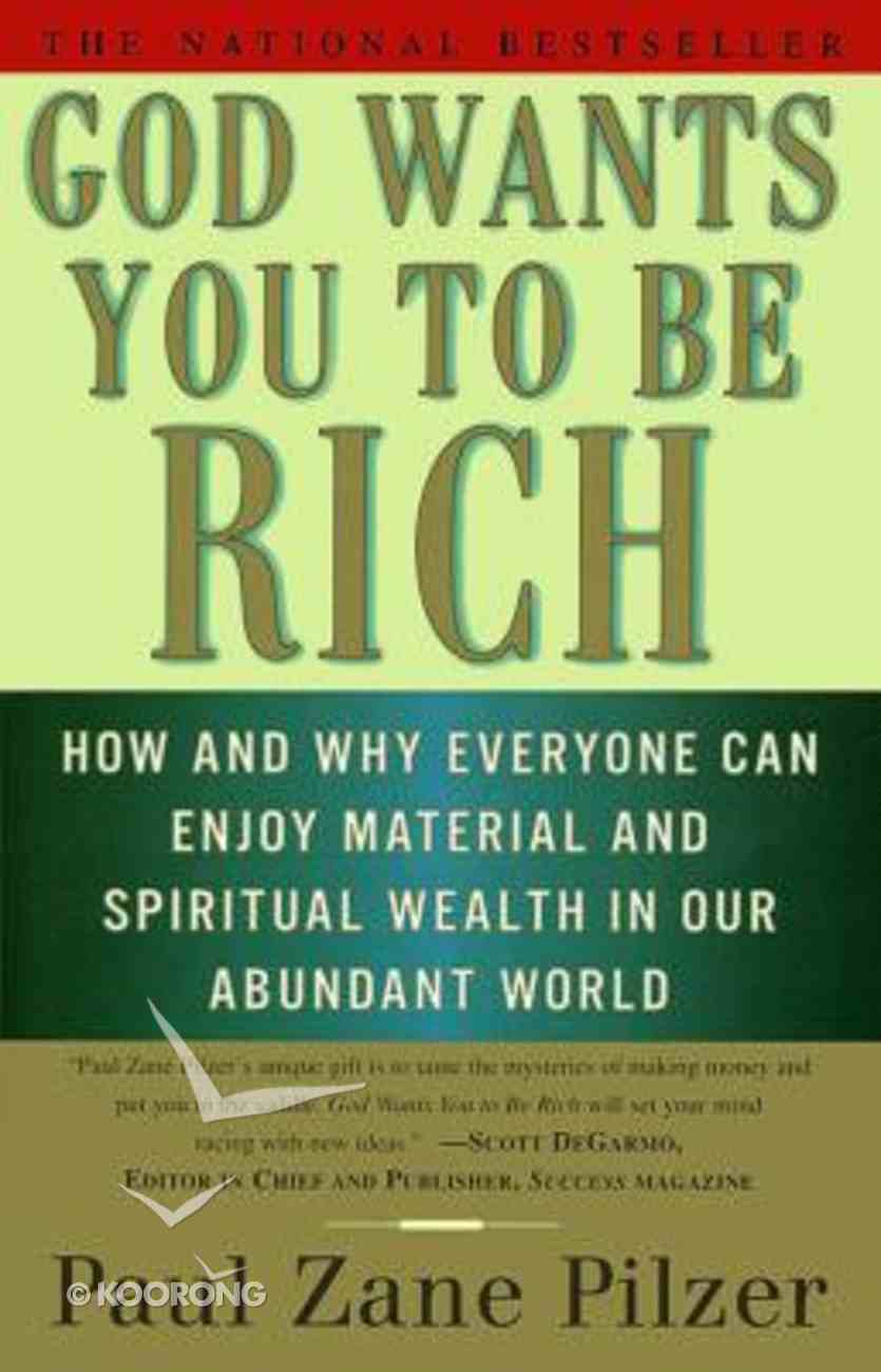 God Wants You to Be Rich Paperback