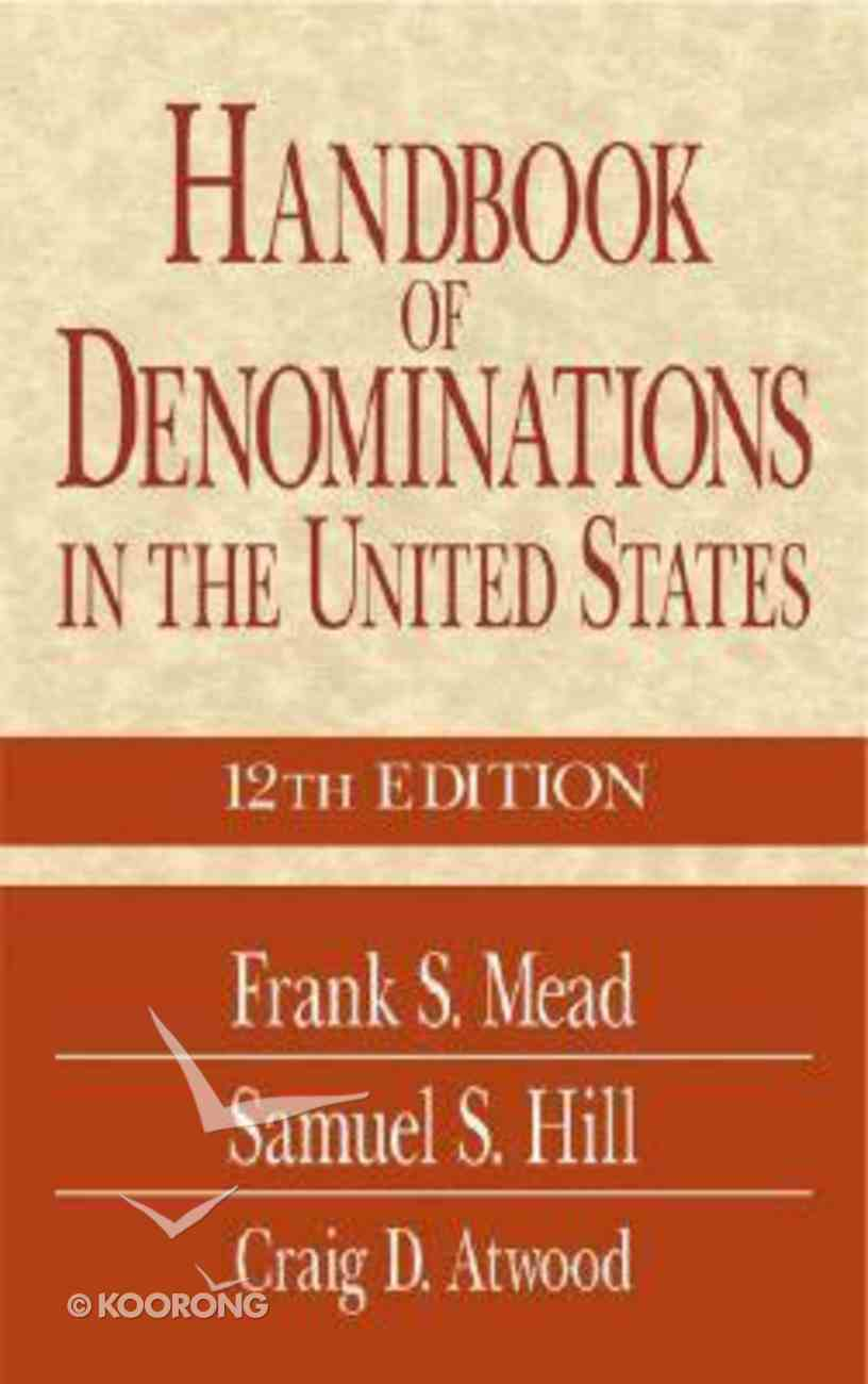 Handbook of Denominations in the United States (12th Edition) Hardback
