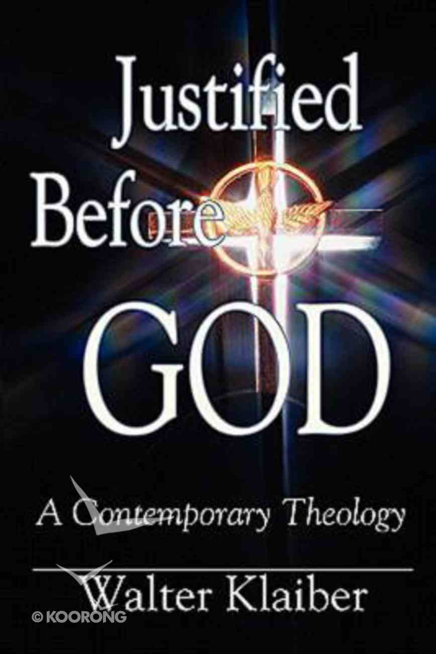 Justified Before God Paperback