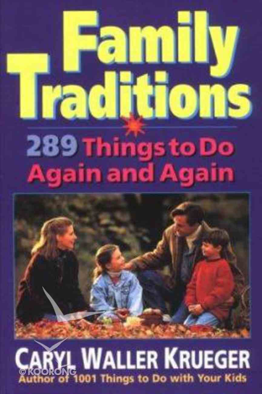 Family Traditions Paperback