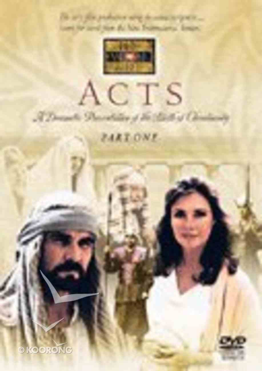 Visual Bible Acts DVD