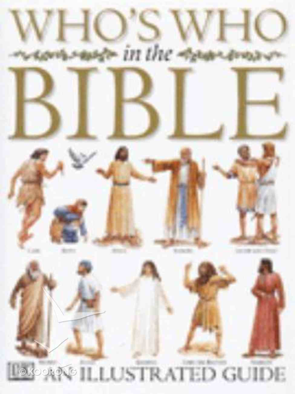 Who's Who in the Bible Hardback