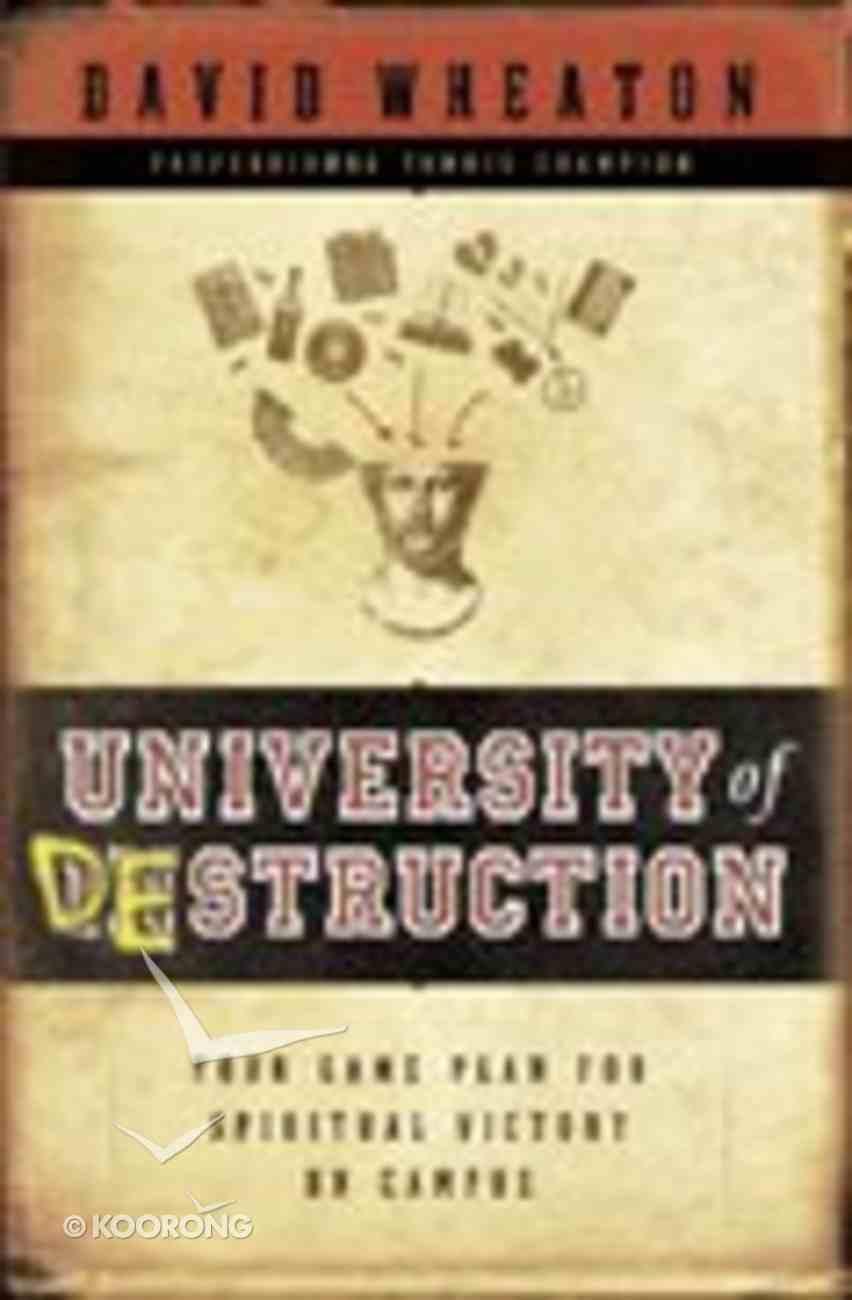 University of Destruction? Paperback