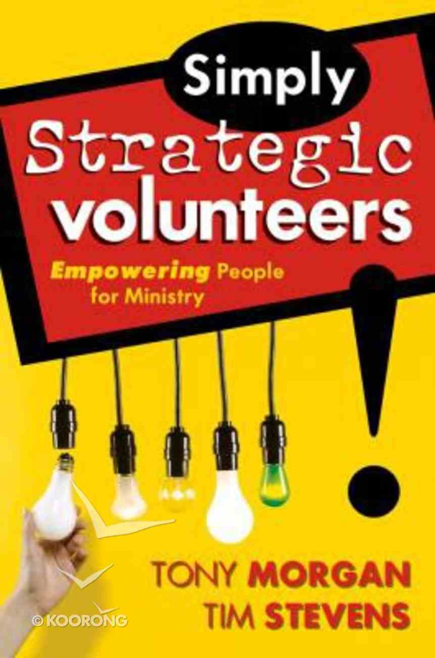 Simply Strategic Volunteers Paperback