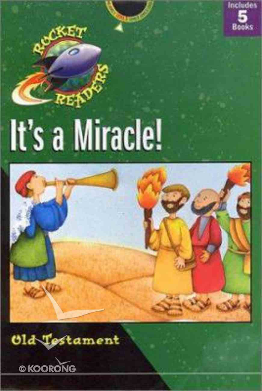 It's a Miracle! (Old Testament) (Rocket Readers Level 1 Series) Paperback