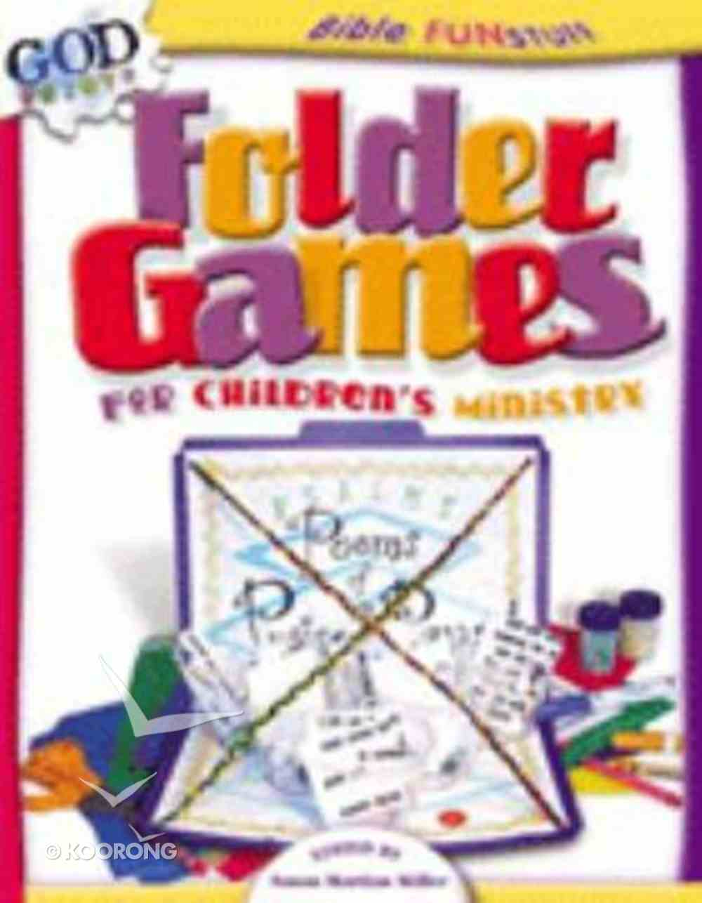 Folder Games For Children's Ministry (Godprints Bible Fun Stuff Series) Paperback
