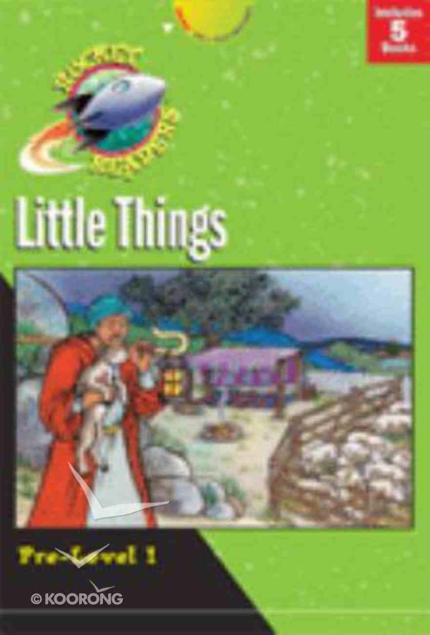 Little Things (Set 1) (Rocket Readers Pre-level 1 Series) Paperback