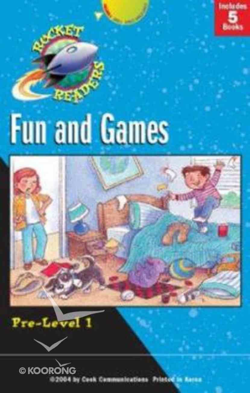 Rocket Reader Pre 1: Fun and Games (Rocket Readers Pre-level 1 Series) Hardback
