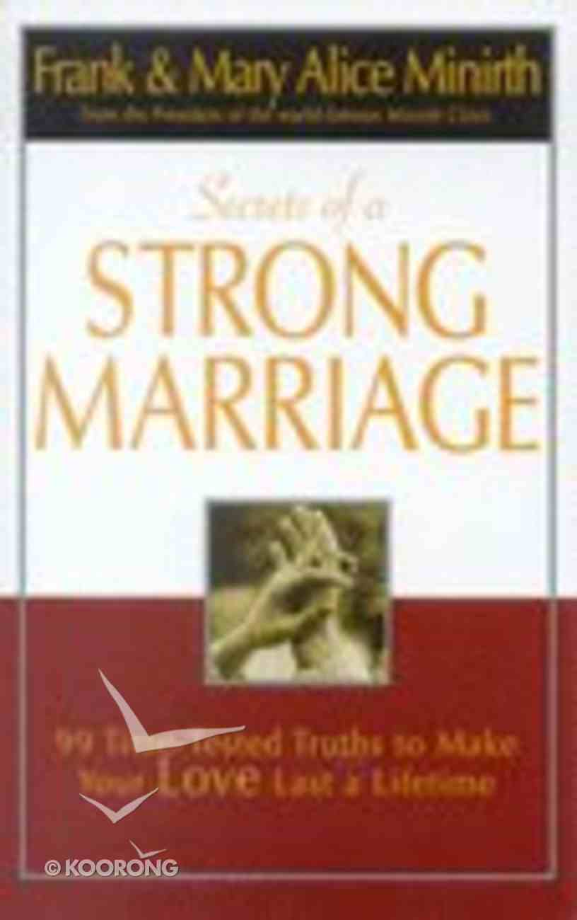 Secrets of a Strong Marriage Paperback