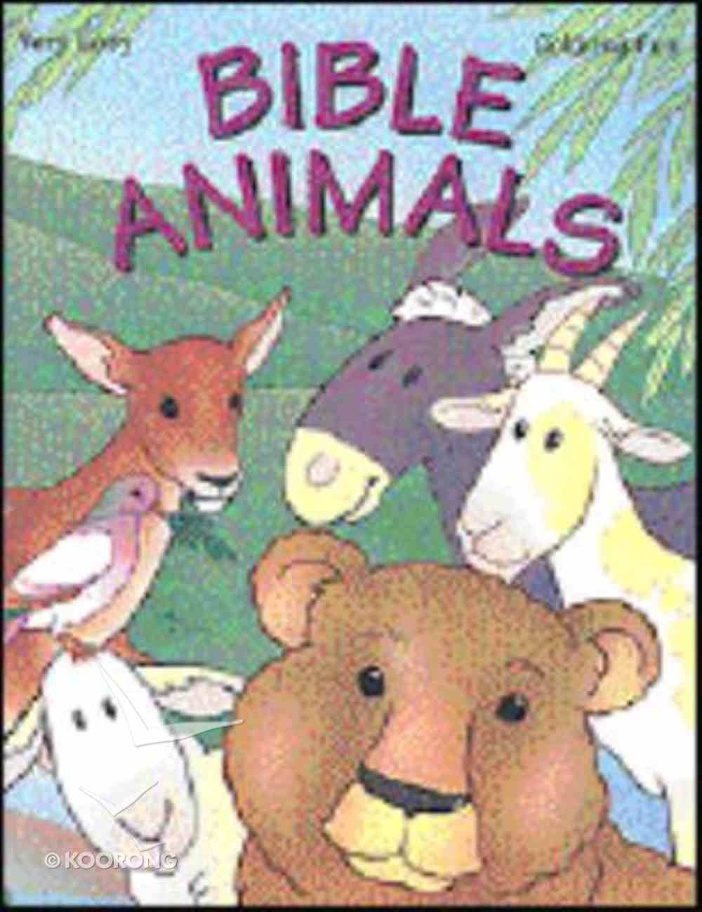 Very Easy Coloring: Bible Animals Paperback