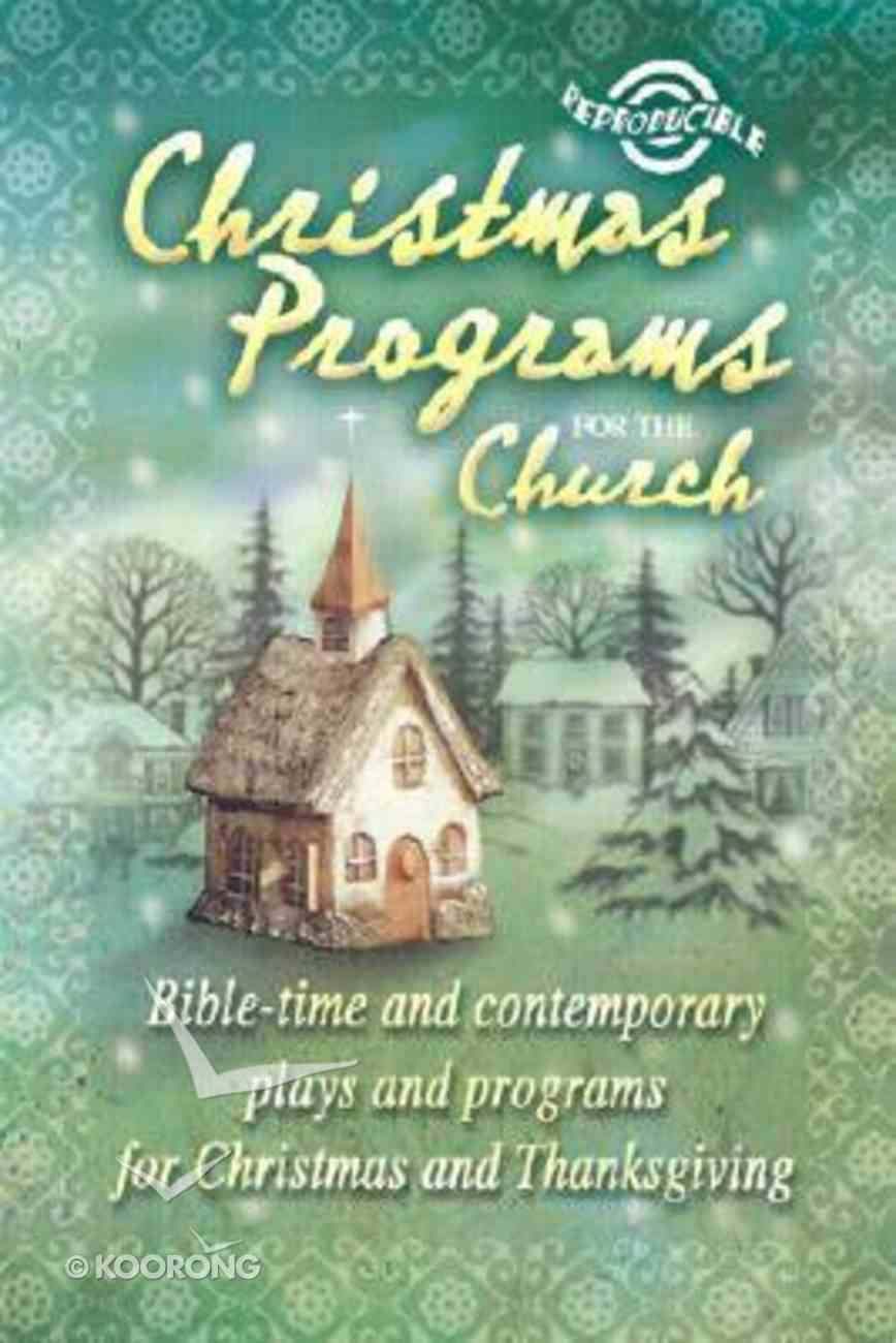 Christmas Programs For the Church (2003 Edition) Paperback