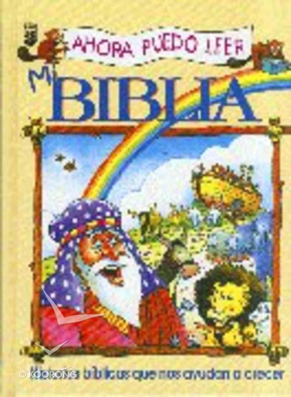 Ahora Puedo Leer Mi Biblia (The Eager Reader Bible Spanish Edition) Paperback