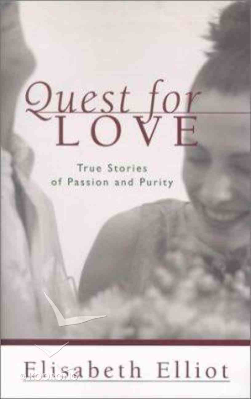 Quest For Love Paperback