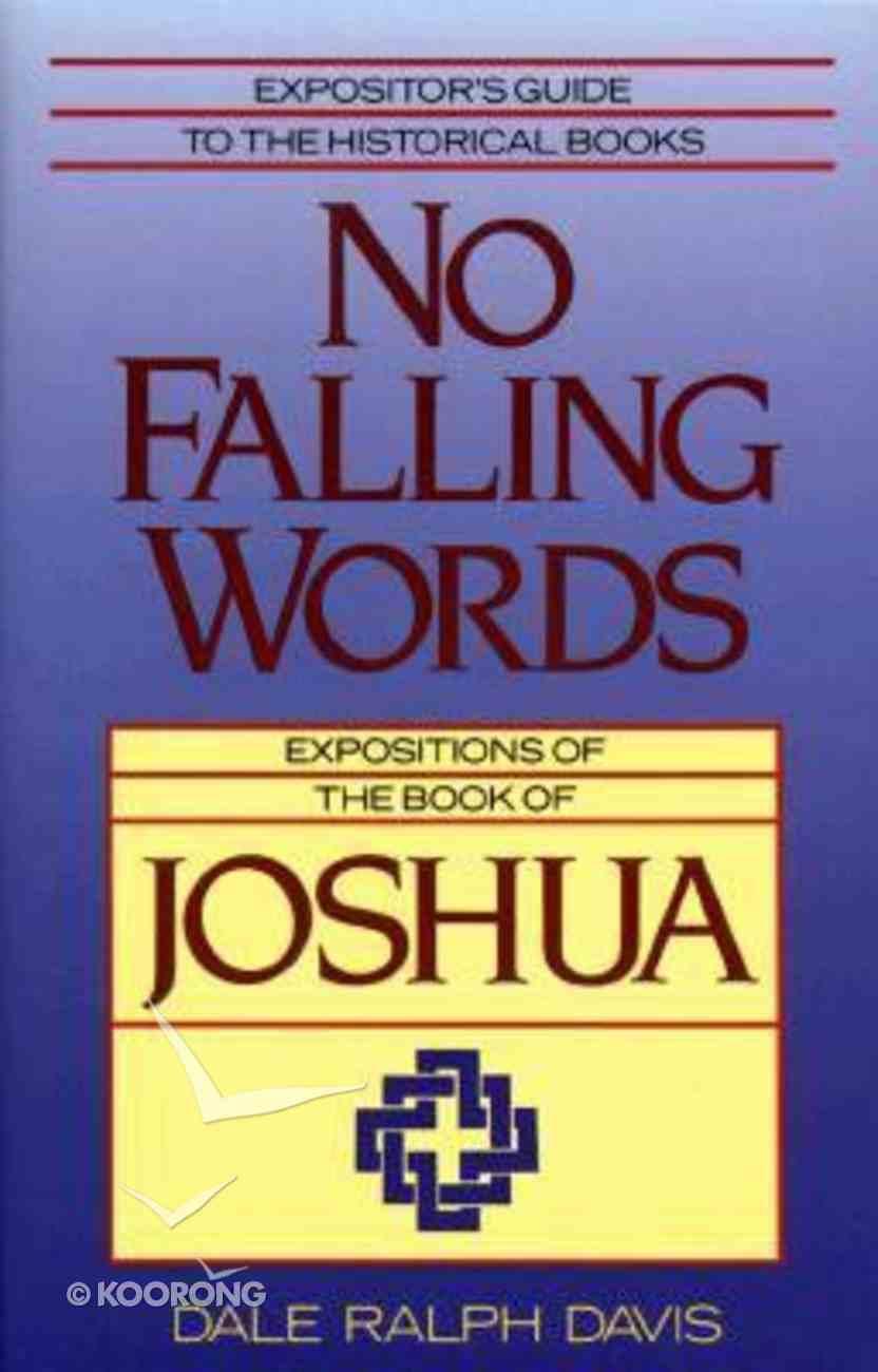 No Falling Words Paperback