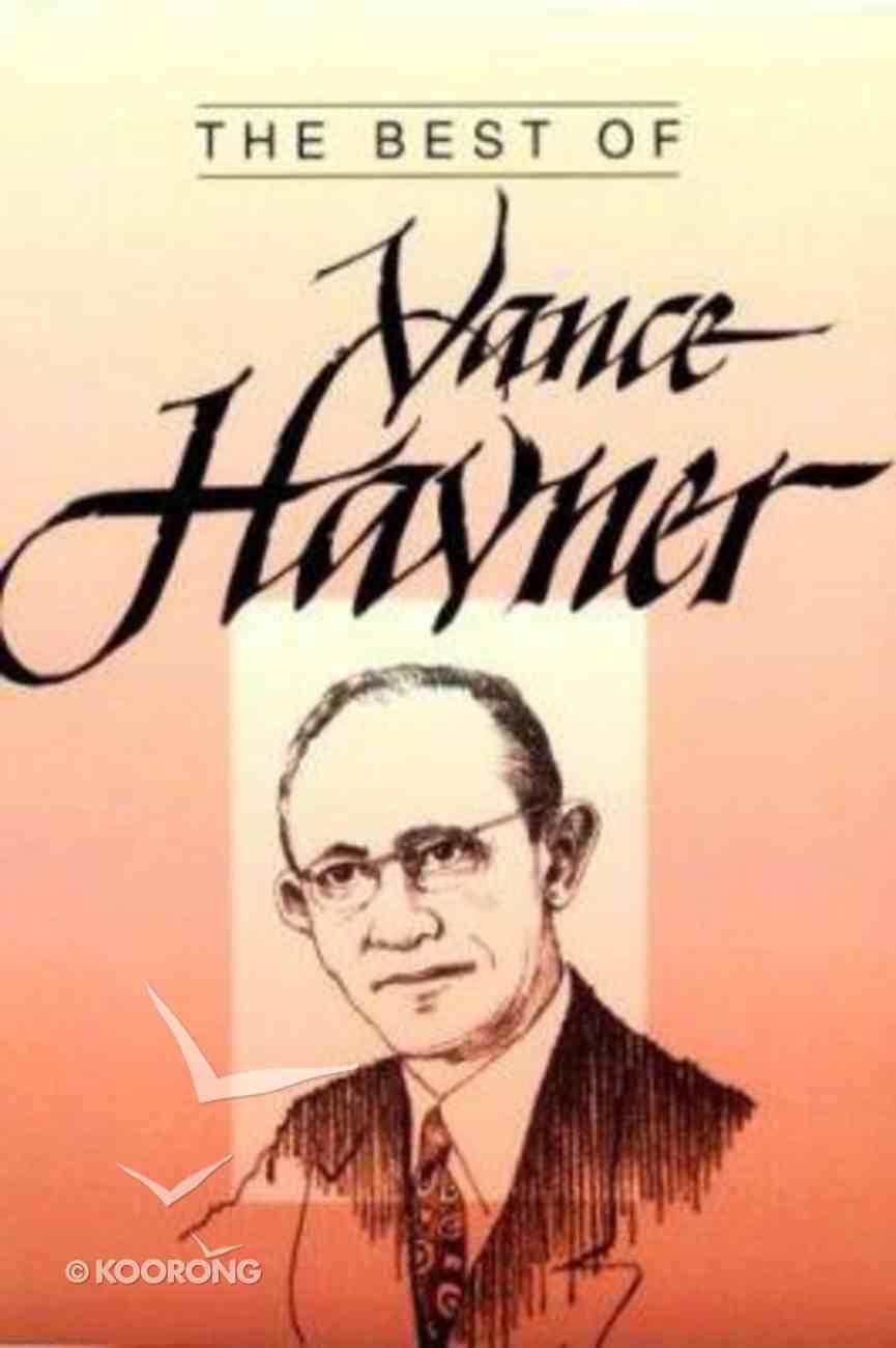 Best of Vance Havner Paperback