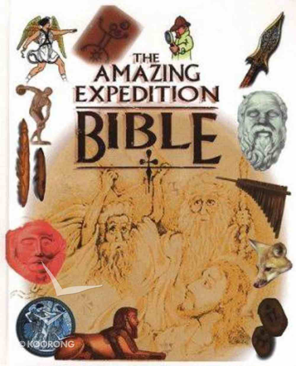 The Amazing Expedition Bible Hardback
