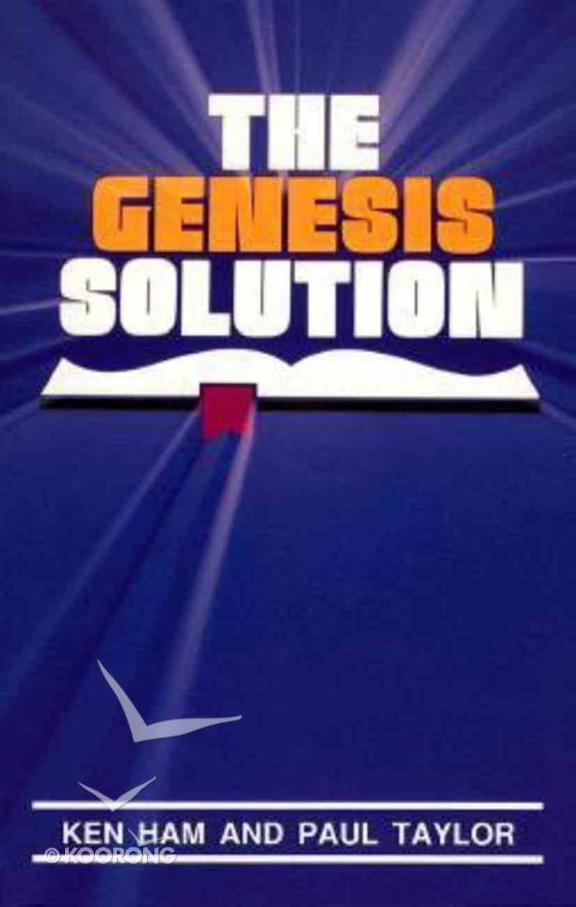 Genesis Solution Paperback