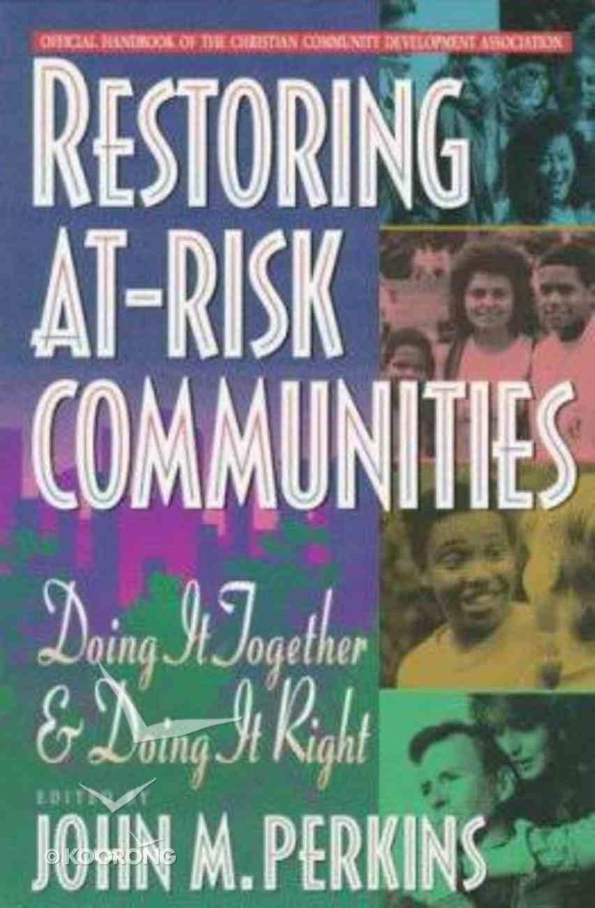 Restoring At-Risk Communities Paperback
