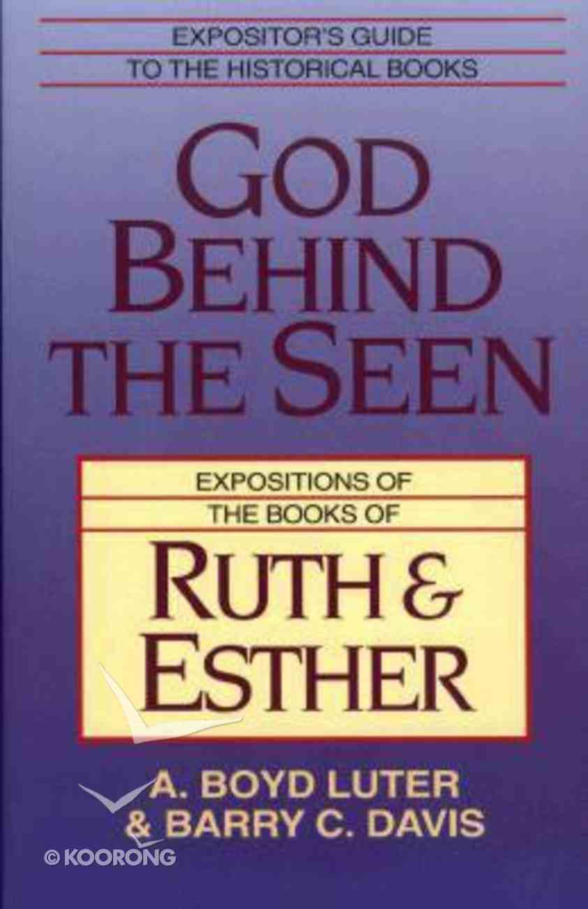 God Behind the Seen Paperback