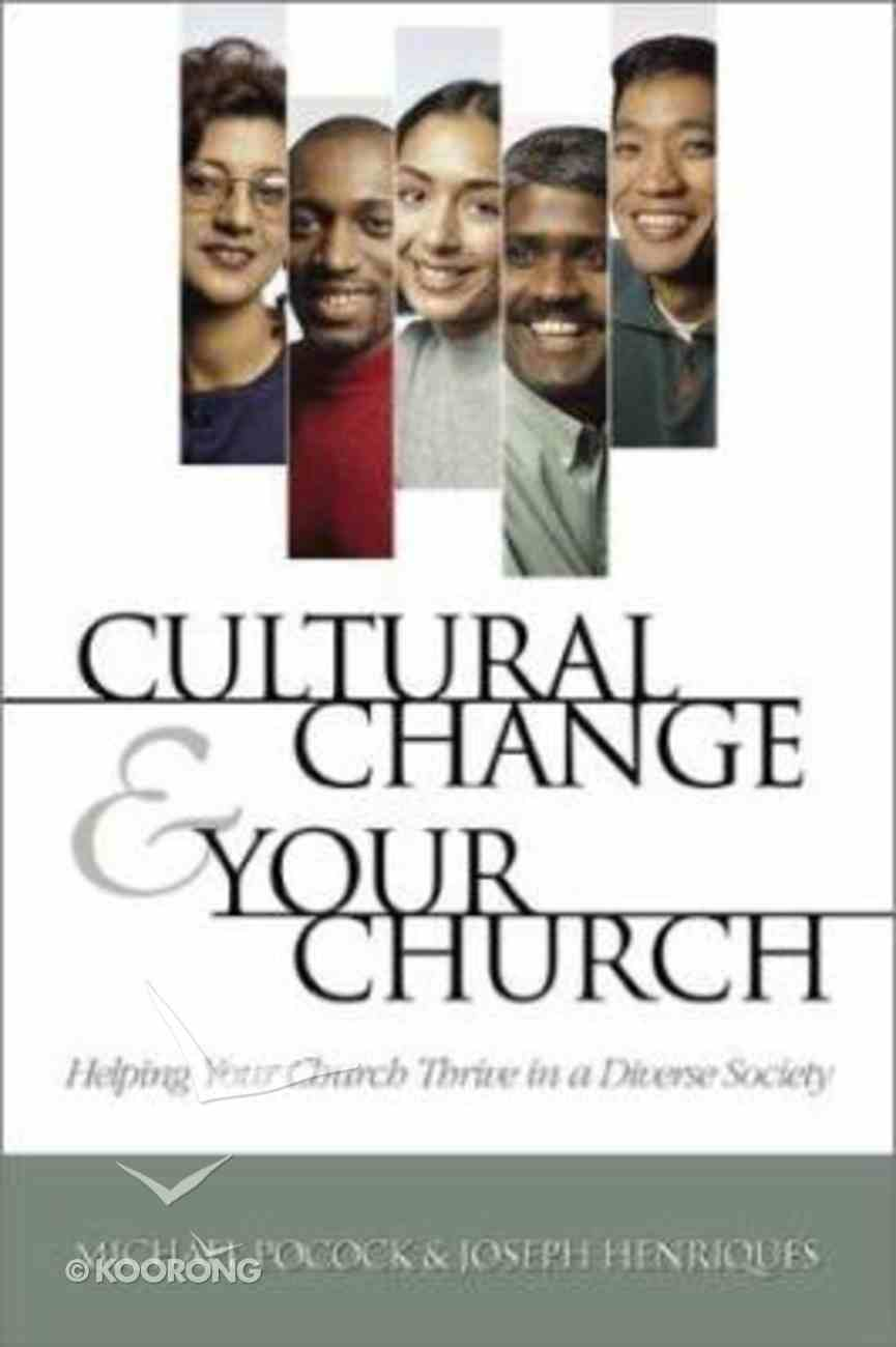 Cultural Change and Your Church Paperback