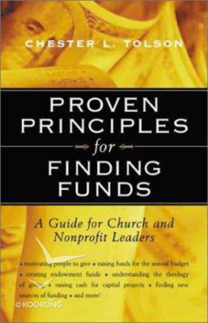 Proven Principles For Finding Funds Paperback