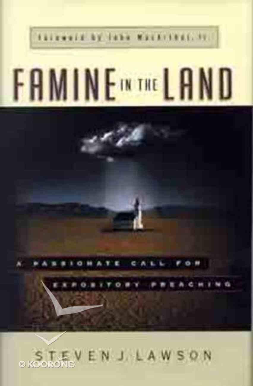 Famine in the Land Hardback