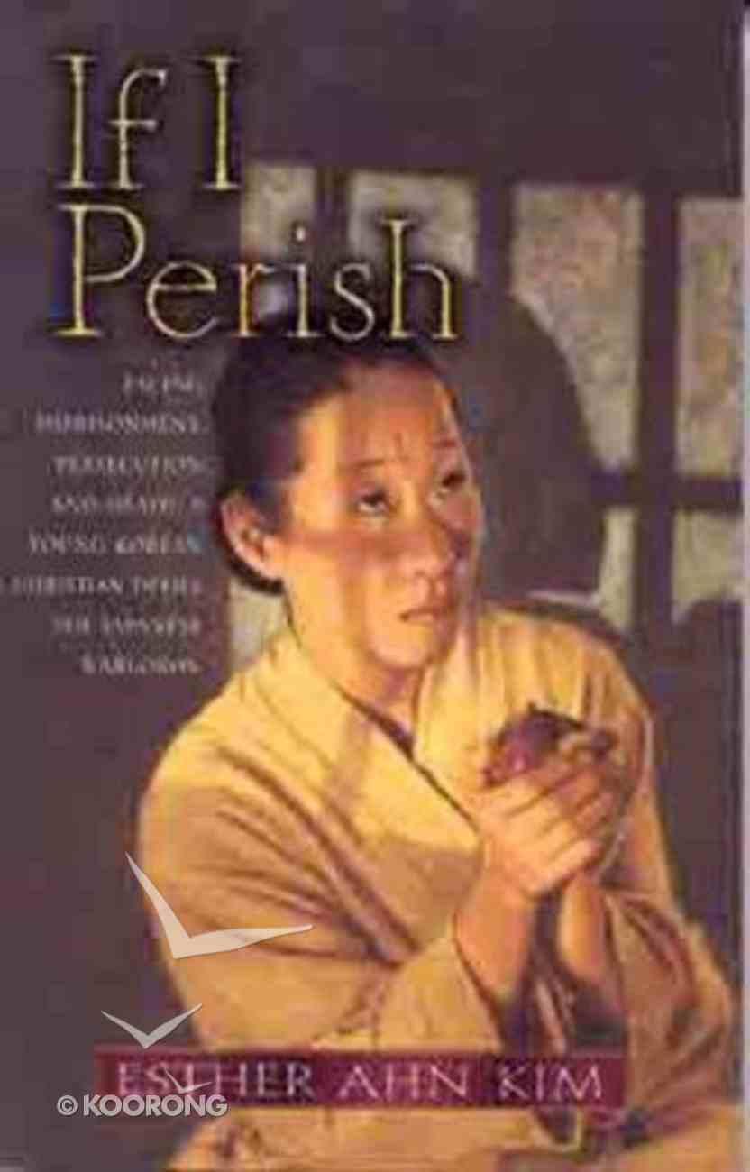 If I Perish Paperback