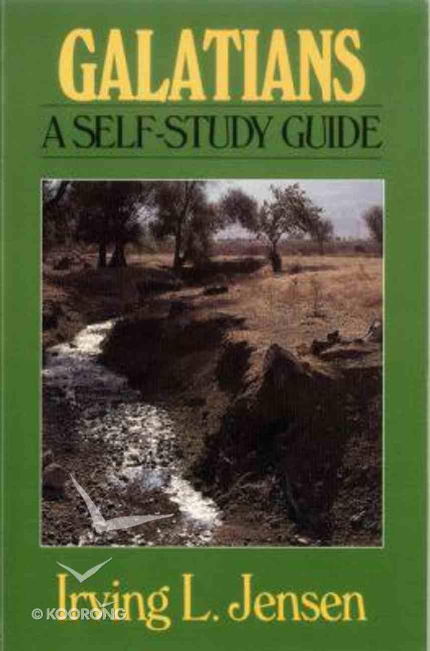 Self Study Guide Galatians (Self-study Guide Series) Paperback