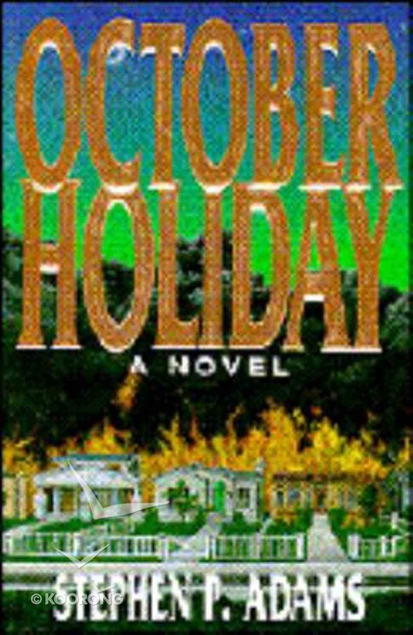 October Holiday Paperback