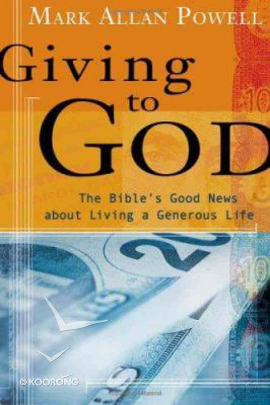 Giving to God Paperback