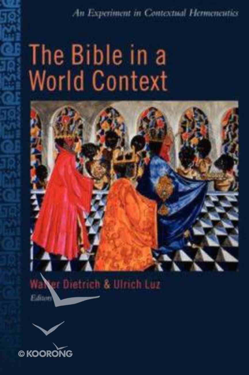 The Bible in a World Context Paperback