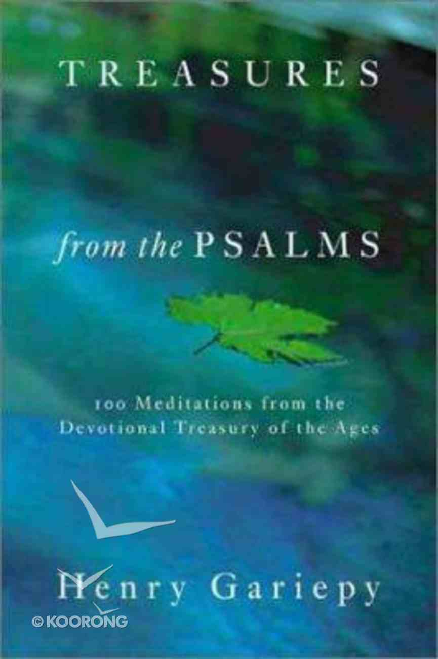 Treasures From the Psalms Hardback