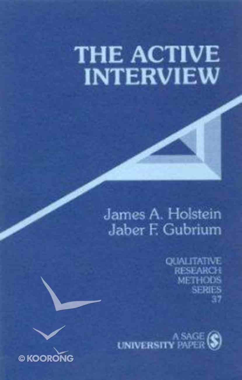 The Active Interview Paperback
