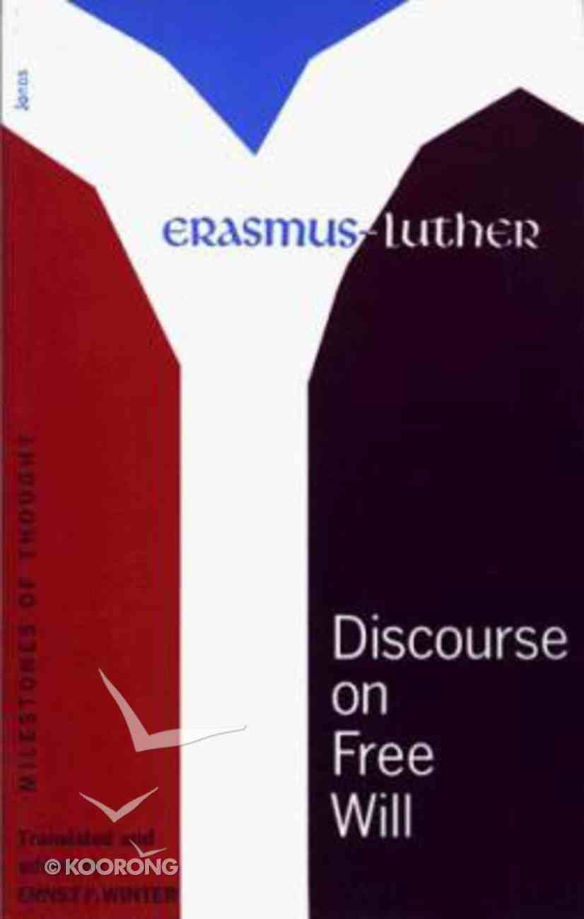 Discourse on Free Will Paperback
